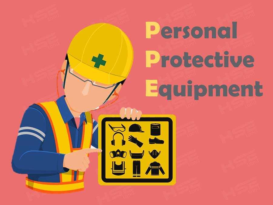 تصویری از تجهیزات حفاظت فردی